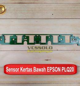 Sensor Kertas Bawah Card Lower Epson PLQ20 Baru