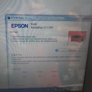 Kode Kesalahan 031006 Error Epson L3110 L3150 L1110
